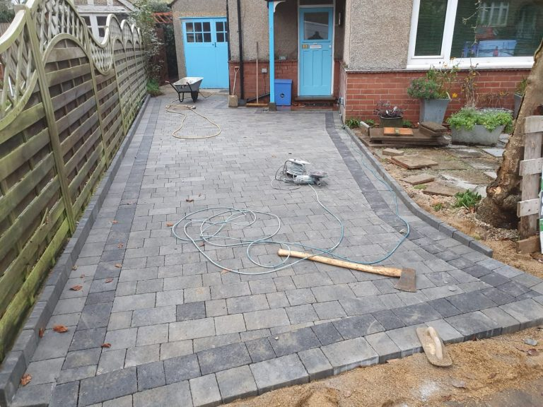 Block Paving Installation in New Addington