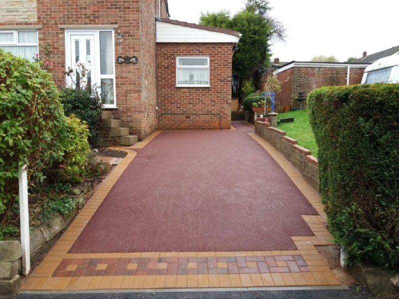 Red Tarmac Driveway Croydon